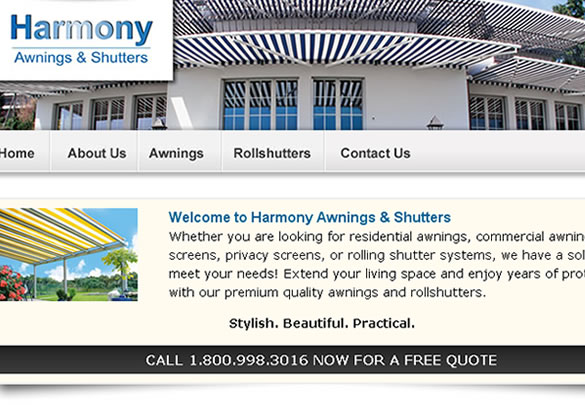 Harmony Awnings & Shutters