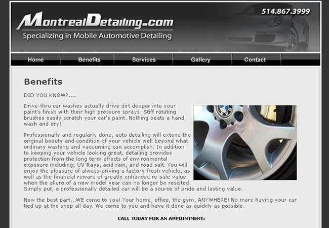 Montreal Detailing
